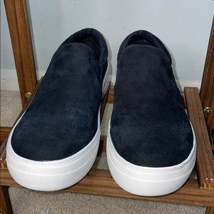 """Steve Madden """"gills"""" size 8.5 leather platform"""